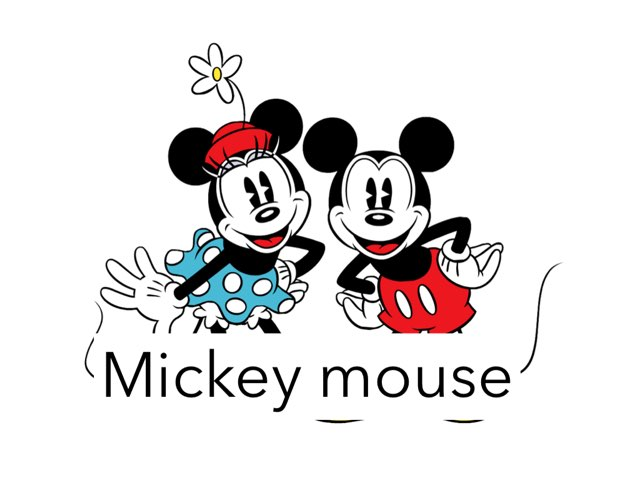 Mickey Mouse by Amad meri
