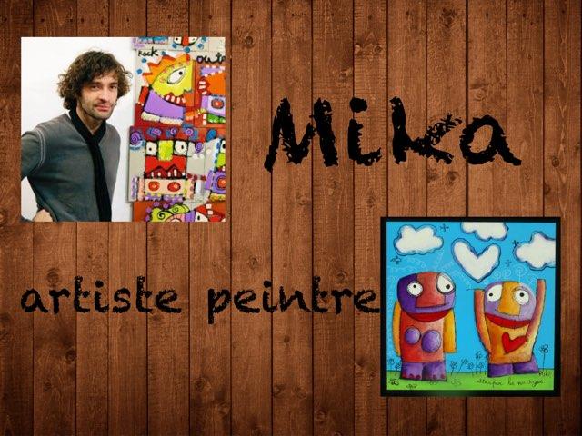 Mika artiste peintre by Shany Alvaer-Robert
