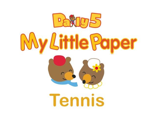 Milly & Finn Play Tennis by Mary Kate Baughman