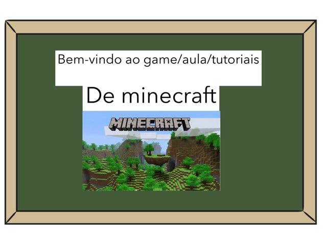 Minecraft Aula Vol.1 by Maitê Morais