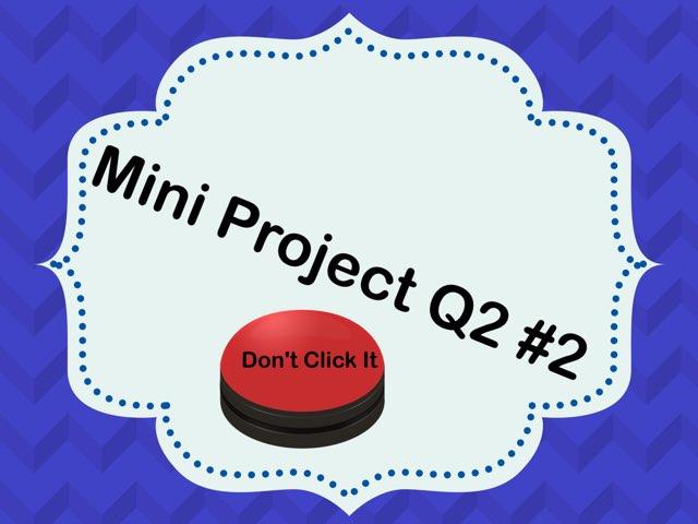 Mini Math Project Q2 #2 by Marilyn C.V