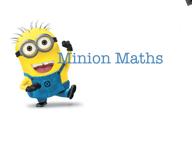 Minion Maths - Number Bonds by Tilly Tap