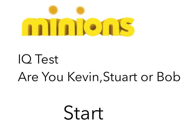 Minions-Are You Kevin,Stuart Or Bob by Leo French