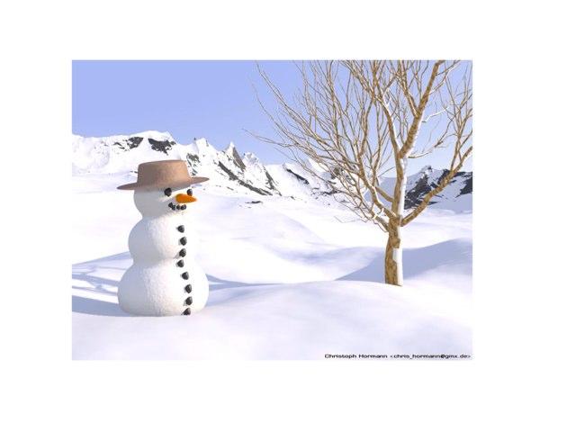 Miss LeAnn's Snowman! by LeAnn Eshelman