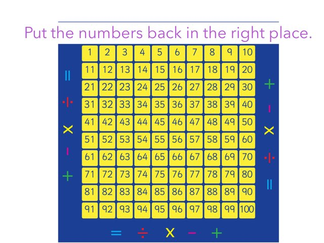 Missing Numbers by Chloe whiteford