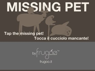 Missing Pet By Frugoo by Frugoo Abbigliamento