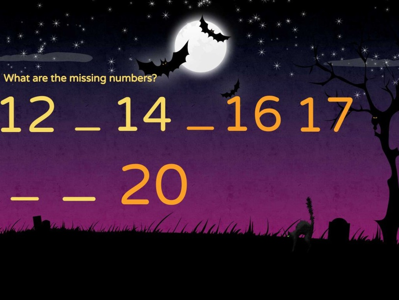 Missing Numbers by Kavin Kumar