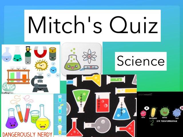 Mitch's Quiz by Daragh Mcmunn