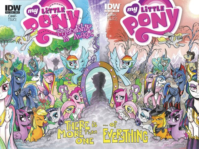 Mlp Comic Covers  by M2 Taylor