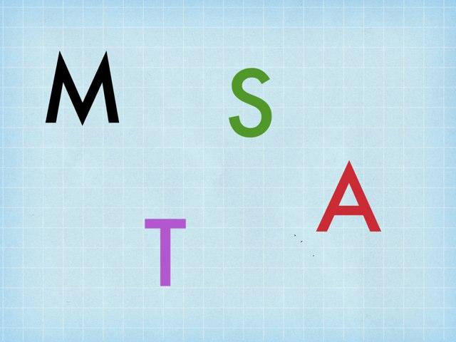 Mm,  Tt,  Ss,   Aa by Revé Pounds