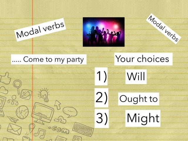 Modal Verb Game  by Y6F Y6F