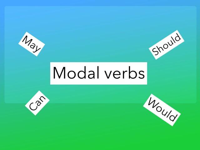 Modal Verb Quiz by Y6F Y6F