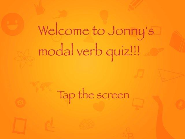 Modal Verbs Jonny by Y6F Y6F