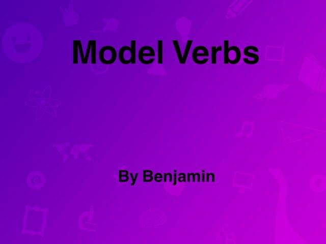 Model Verbs by Y6F Y6F