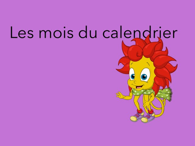 Mois Du Calendrier  by profsr H!