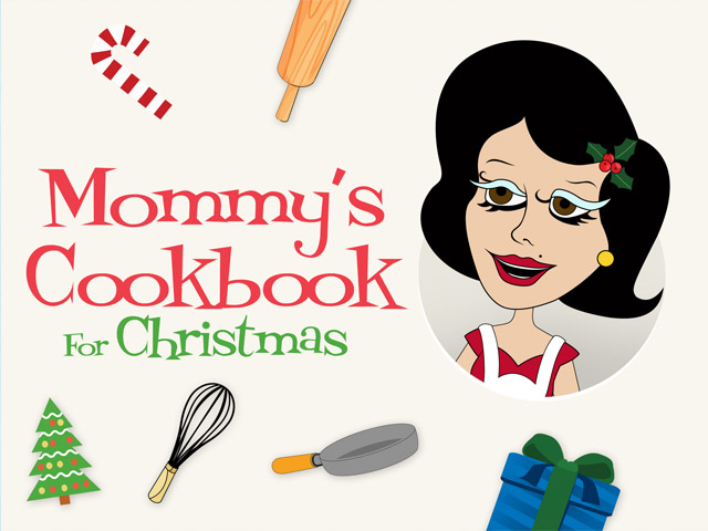 Mommy's Christmas Cookbook by Tiny Tap