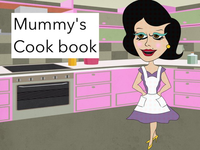 Mommy's Cook Book by Naya Barakat