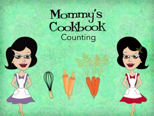 Mommys Cookbook Counting by Tiny Tap