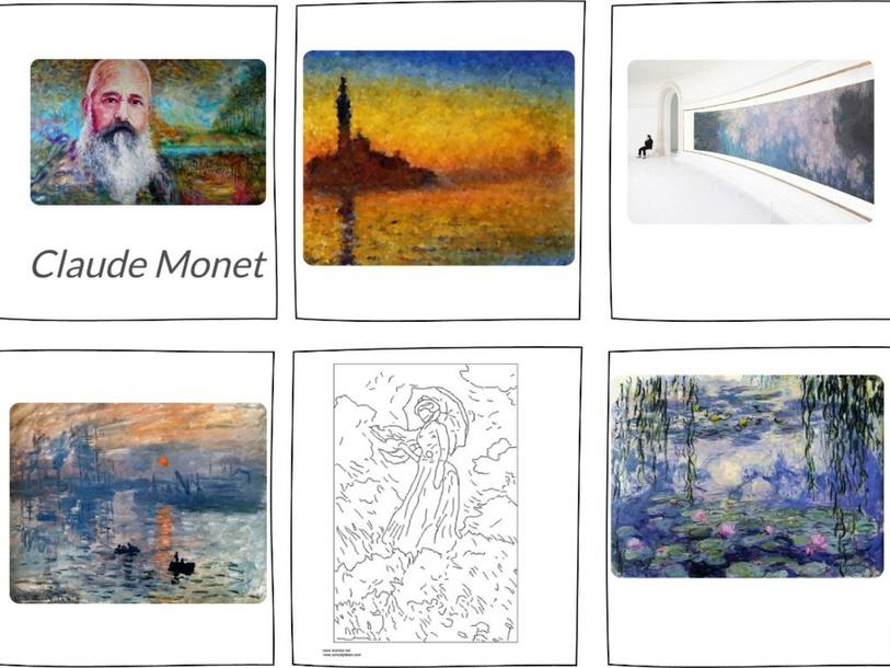 Monet by sylvie corneau