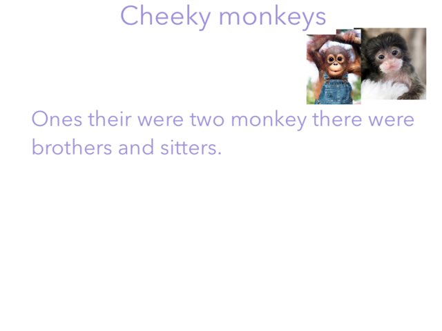 Monkeys by Candy Carter