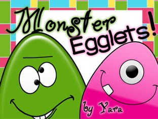 Monster Egglets by Yara Habanbou
