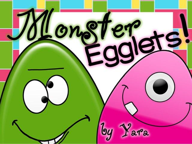 Monster Egglets by Yara Habanbou