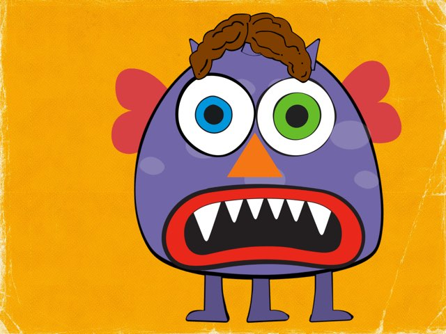Monster Face by Shanshan Lakshmi