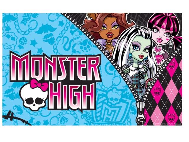 Monster Higt  by Charlotte Challet
