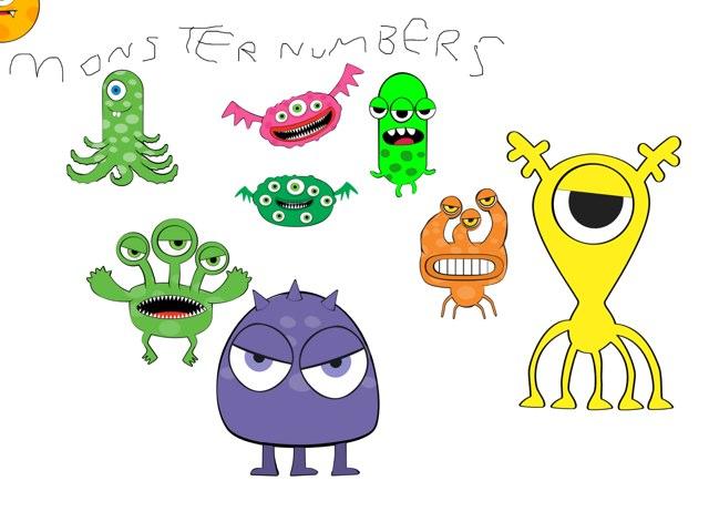 Monster Numbers by Valeria Ferradas