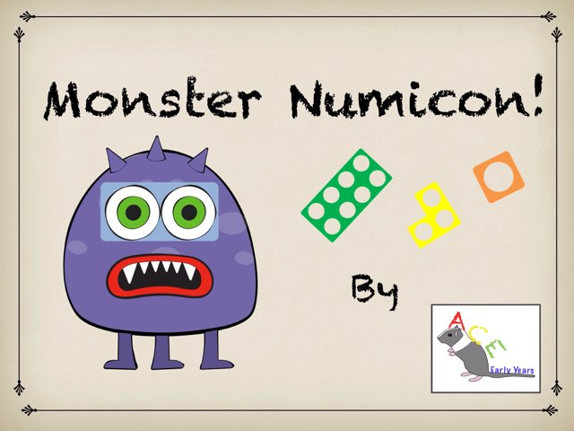 Monster Numicon - Counting made easy! by Ace Early Years