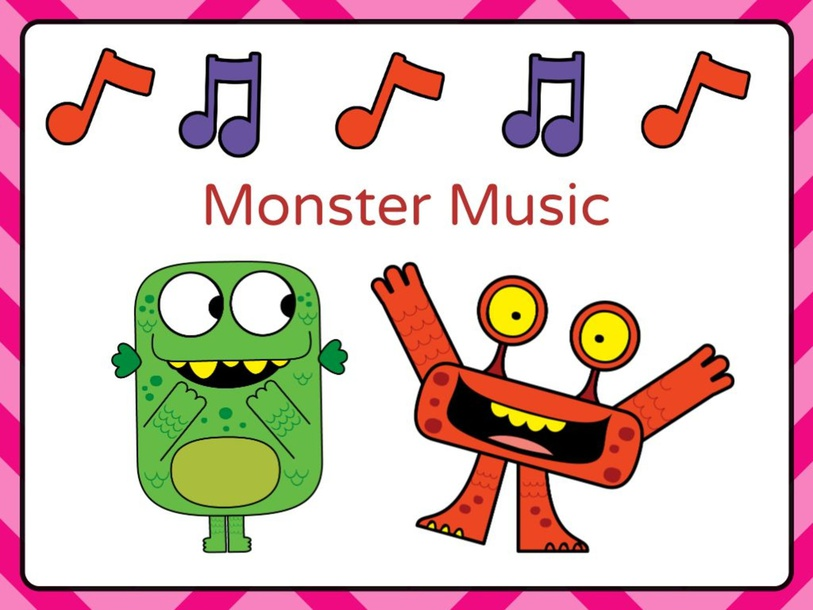 Monster Music Instrument Party by Erika Parvi