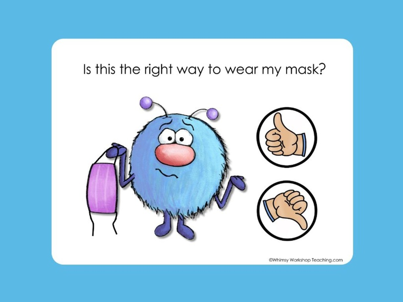 Monsters Wearing Masks by Ms. Jess