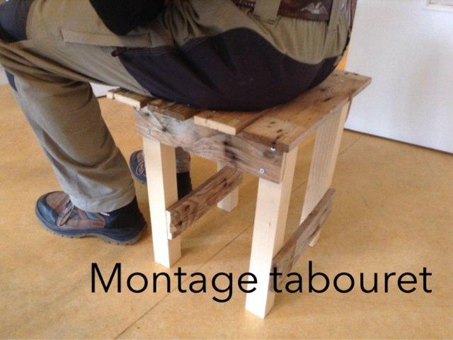 Montage Tabouret by Saja Enfant