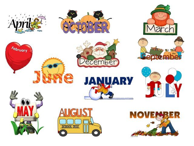 Months Of The Year by Bente Andsbjerg