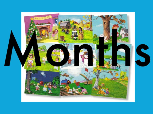 Months by Kathie Ginman
