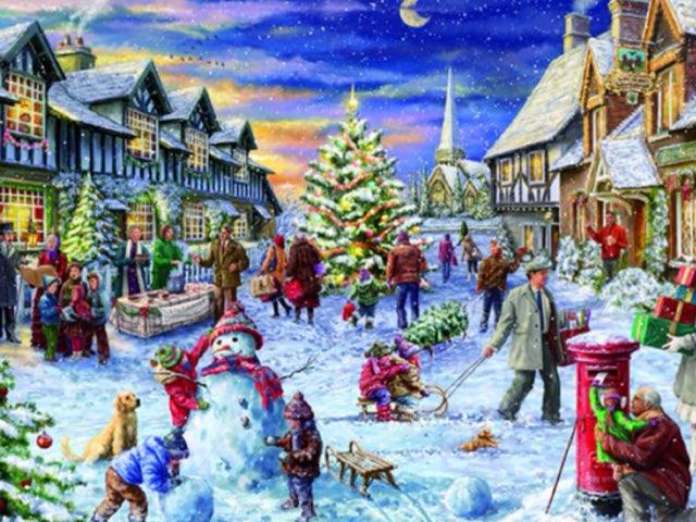 Monty Winter Scene by Mr Parkinson
