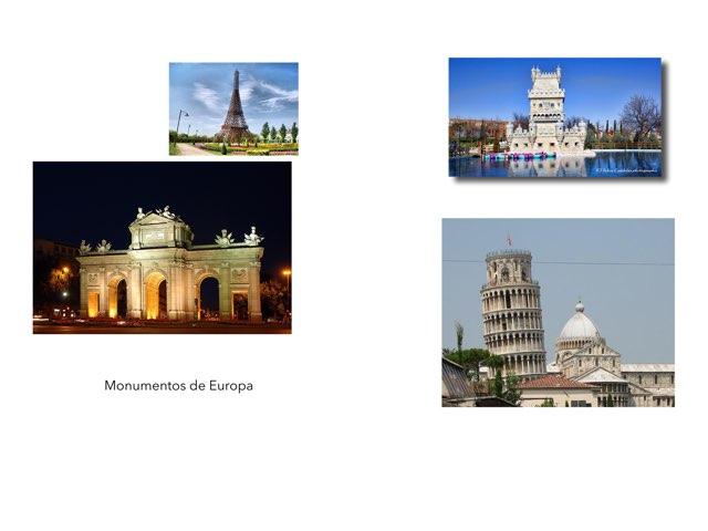 Monumentos De Europa by Curso CFTIC