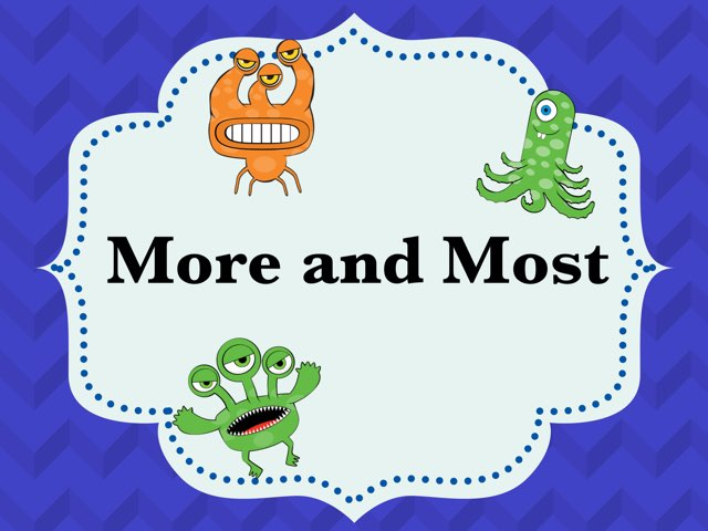 More And Most by Melissa Winn