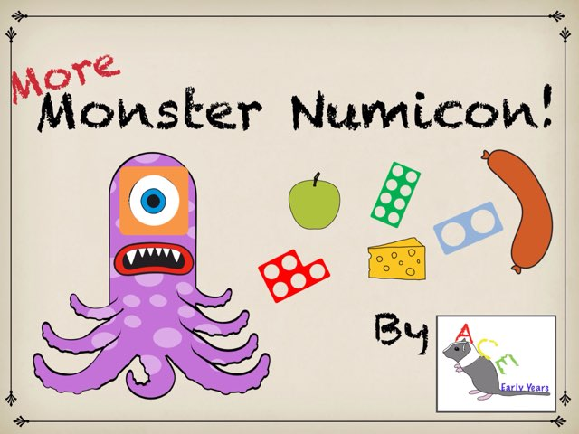 More Monster Numicon by Ace Early Years