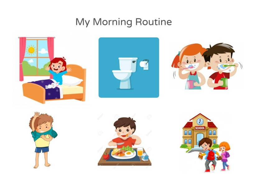 Morning Routine by TinyTap creator