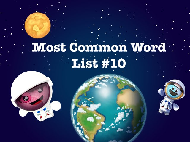 Most Common Word List #10 by Renee fletcher