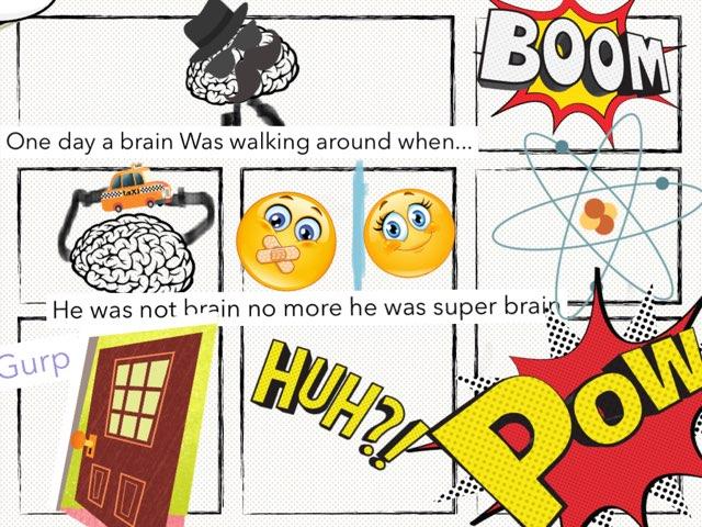 Mr Brain  by Angel lee