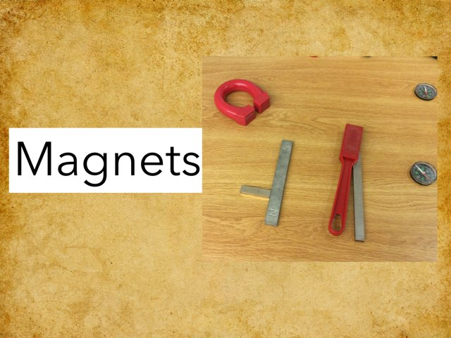 Mrs D's Magnet Game by Frances Chapin