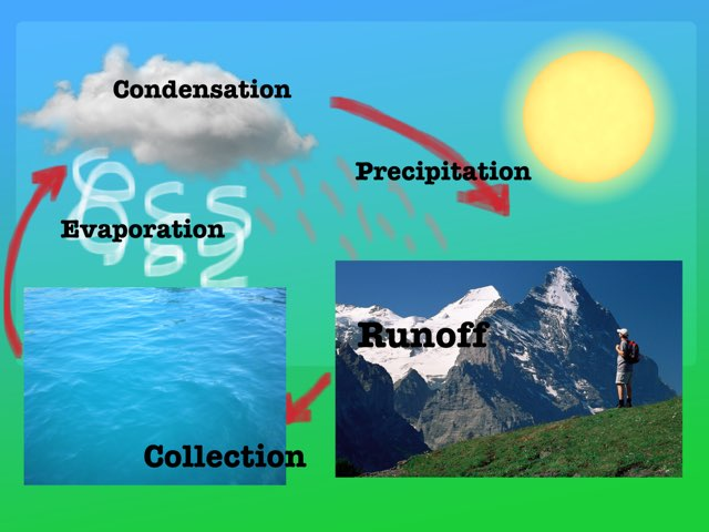 Ms.Henry's water cycle by Elizabeth Henry