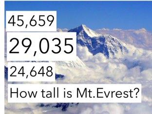 Mt.Evrest by Courtney Durbin