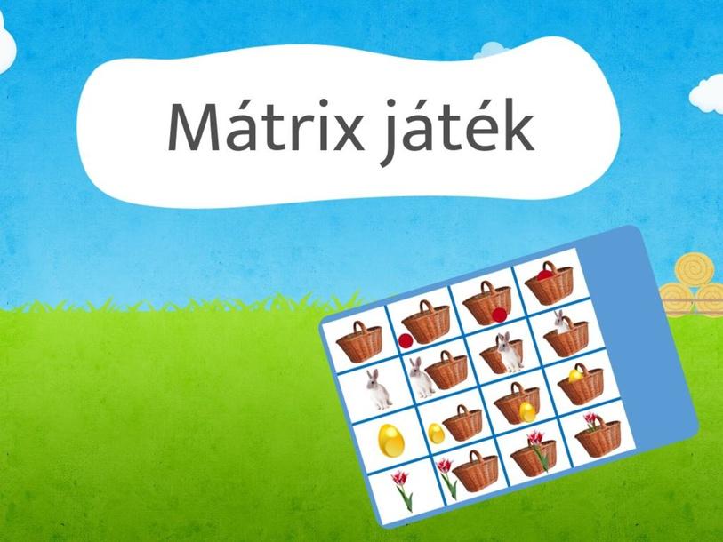Mátrix játék - húsvét by Dorottya Dragony