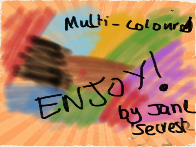 Multi Coloured Puzzle! by Lucy GAMEMAKER