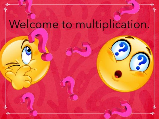 Multiplication Array by Tanner Greene