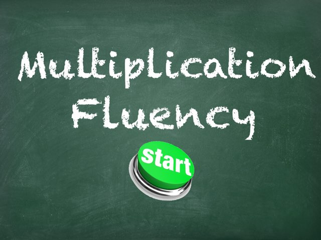 Multiplication Fluency by Joshua VanZant