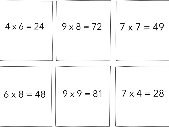 Multiplication Puzzles by Shannon Grant